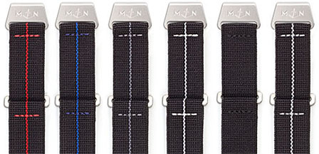 933f7d2b66bd7 They are available for 20, 22 and 24 mm lug width watches. The MN™ Strap is  made from nylon wound and woven ...